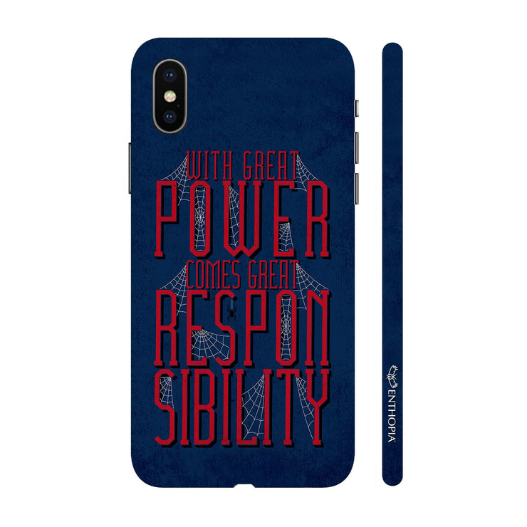 Hardshell Phone Case - Power With Responsibilty