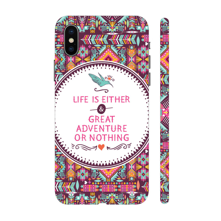 Hardshell Phone Case - Life an Adventure
