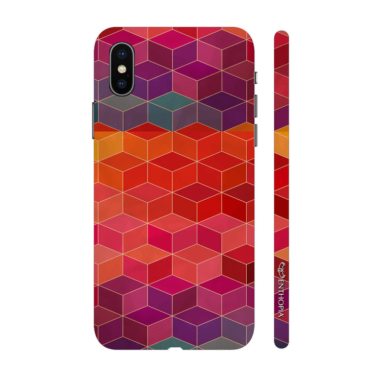 Hardshell Phone Case - Cubes In The House