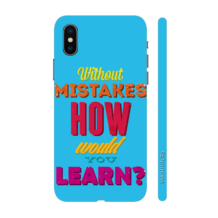 Hardshell Phone Case - Learn With Mistakes