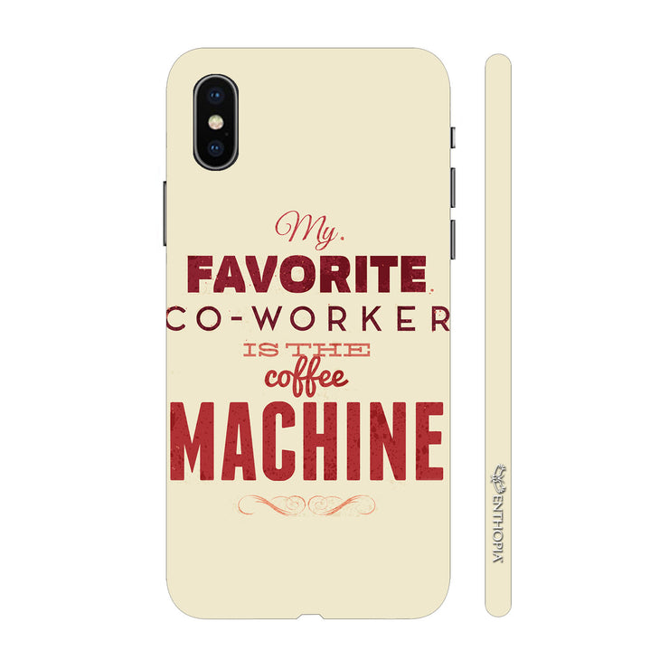 Hardshell Phone Case - My Coffee Machine