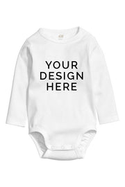 Custom Printed Full Sleeve Onesie Romper Suit