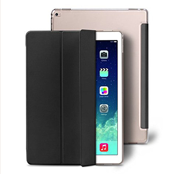"Enthopia Premium Smart Case for IPad Pro 12.9"" - Ultra Thin (Black) Ipad Pro Case"