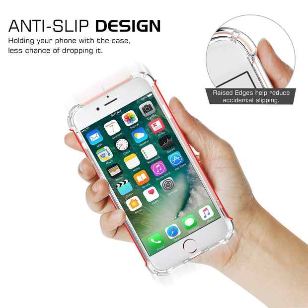 Transparent Corner Protection Cover for Apple iPhone 7 Plus