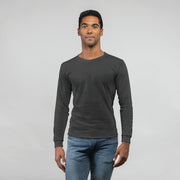 Personalised Men's Full Sleeves Round Neck T-Shirt