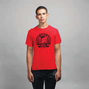 Royal Enfield Design 12 Mens Half Sleeves Round Neck