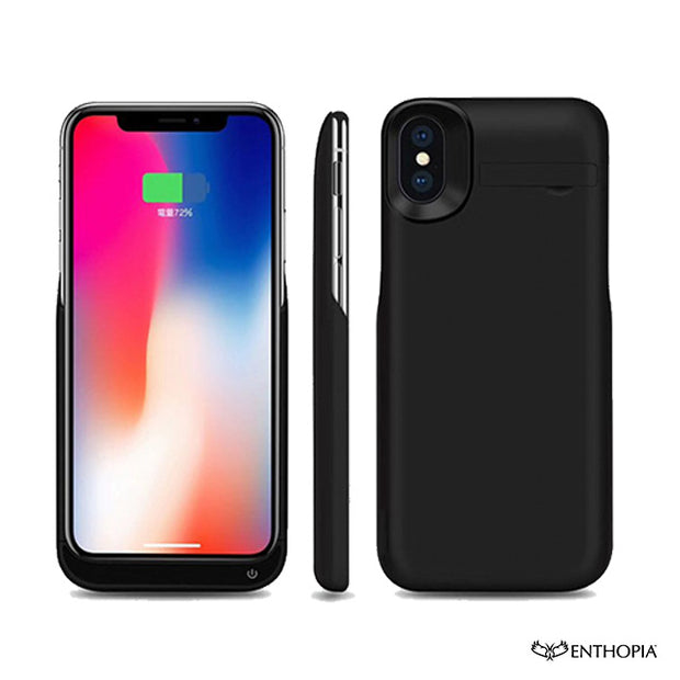 Power Bank Case for iPhone X - 5500 mAh