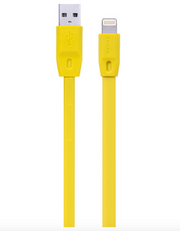 Cable - Lightning Charging Cable For Apple - REMAX 2.1A Flat Cable - 1 Metre