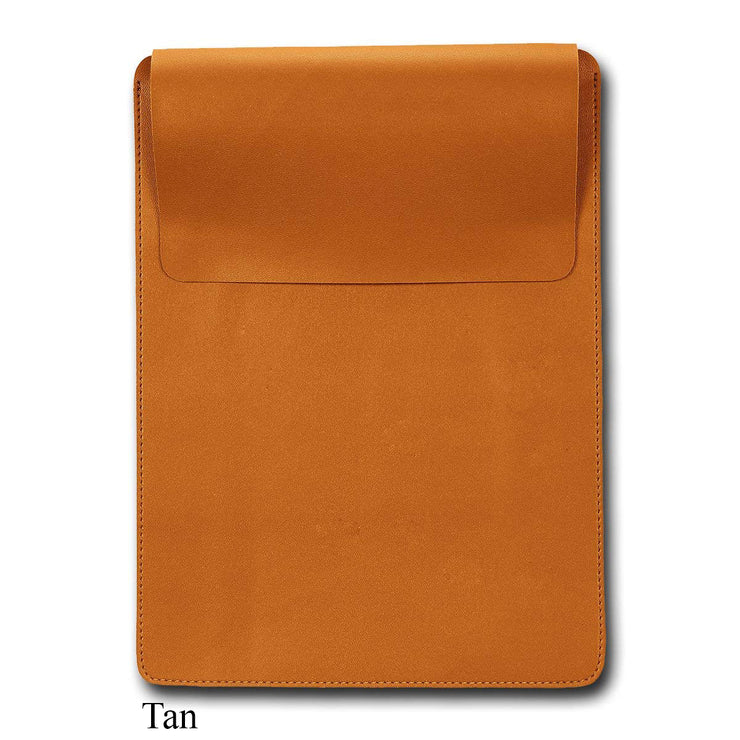 "15"" Vegan Leather Laptop Sleeve"