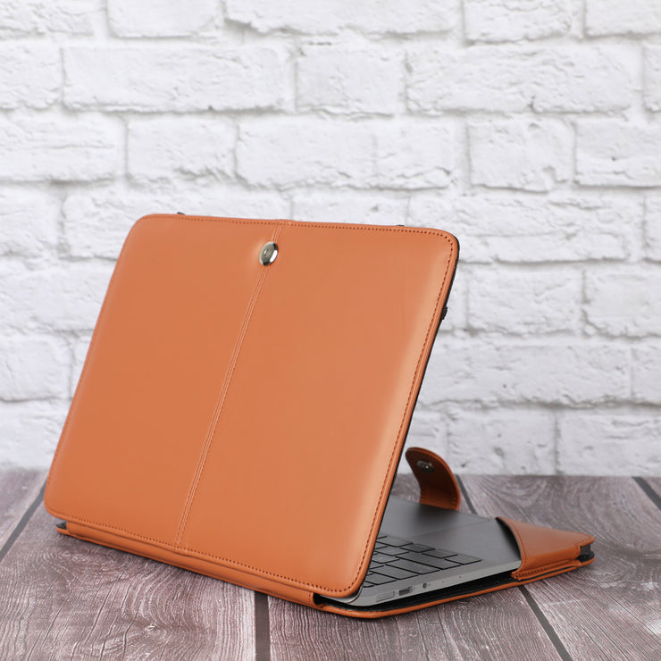 Personalise MacBook Air 13 Inch Case 2018 Release A1932 with Retina Display - Vegan Leather Folio Case