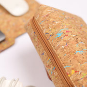 Cork Laptop Sleeve with Pouch
