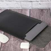 "13"" Vegan Leather Laptop Sleeve"
