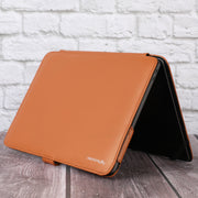 "Personalise MacBook Air 13.3"" Premium Artificial Leather Case Folio Book Sleeve Cover - Vegan Leather"