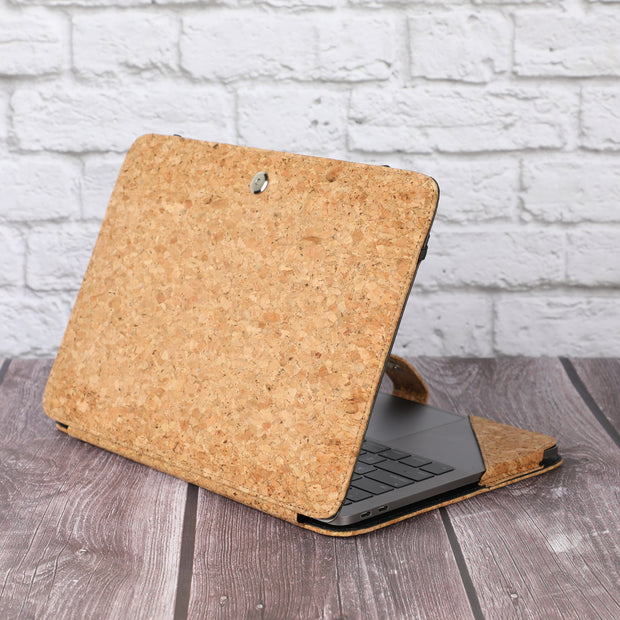 MacBook Pro 13 inch Case 2016-2020 Release A2338 M1 A2289 A2251 A2159 A1989 A1706 A1708 - Vegan Leather
