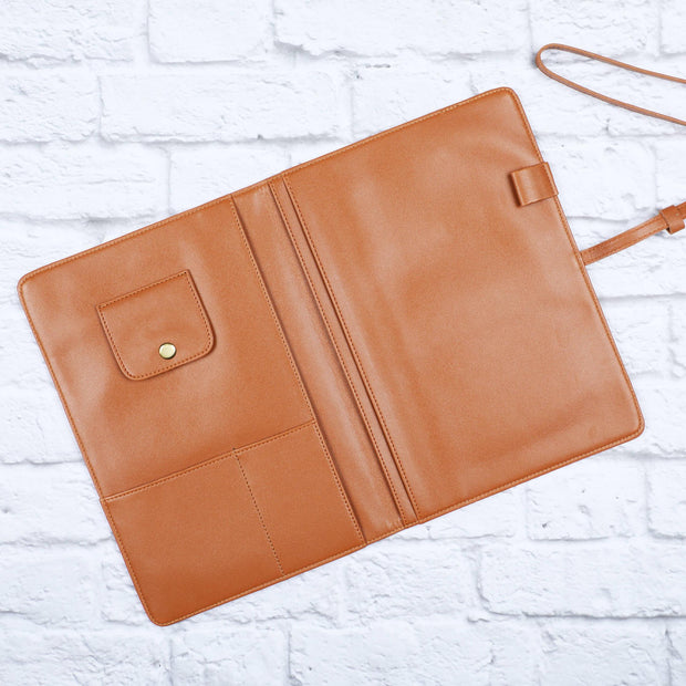 Tablet/Ipad Folio Case - Vegan Leather