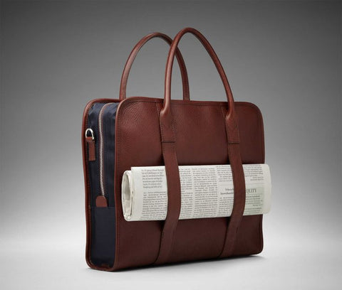 Leather Laptop Bag 1