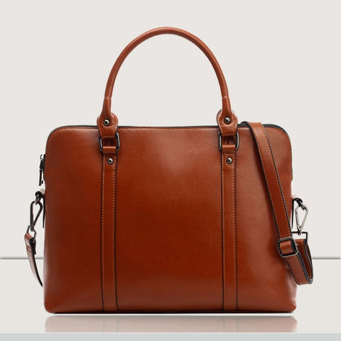 Leather Laptop Bag 2