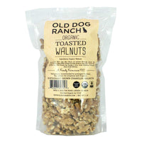Organic Toasted Walnut Halves - Old Dog Ranch