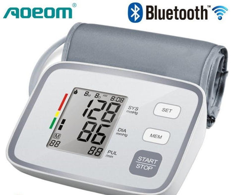 BTPRMO - Bluetooth Blood Pressure Monitor - App Controlled - IOS & Android