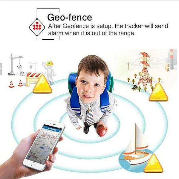 GPSPTL -GPS Personal Tracker Locator with SIM Card SOS Calling – Real Time for Kids, Elder and Pets