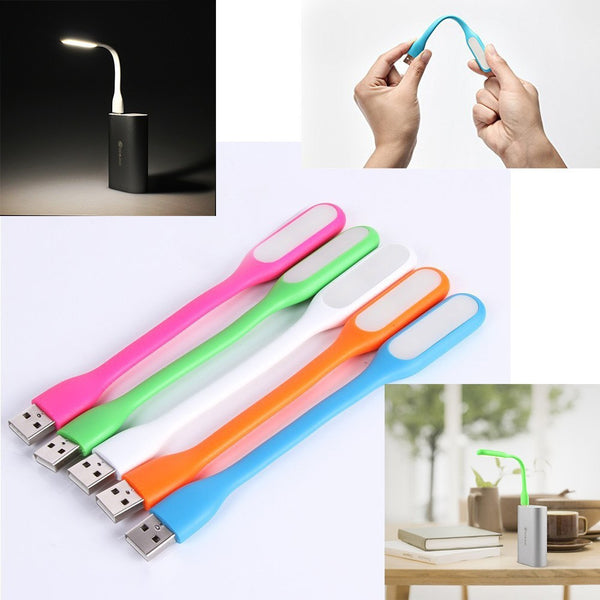 USBLED - Mini USB LED Night Lamp Portable Flexible for PC, Laptop, Power bank.