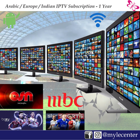 Dragon or True IPTV Subscription 1 Year - Bein, OSN, SKY