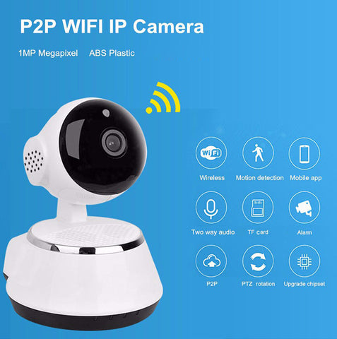 V380 HD 720P Mini IP Camera Wifi Wireless P2P Security CCTV