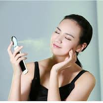 MSTSPR - Facial Mist Sprayer, Portable Nano Handy Cool Mist Humidifier for iPhone