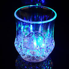 LDRBCC - Rainbow Color Cup - LED Color Flashing Water Beer Drink Cup (2 Pcs)
