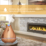 Aromatherapy Essential Oil Diffuser 530ml Cool Mist Ultrasonic
