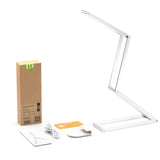 LED Desk Lamp 2-Level Dimmer, Eye-care Portable Table Lamp Aluminum Alloy
