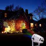 Christmas Light Motion Star Laser projector Three Color Remote Control