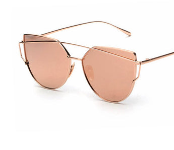 Designer Women Shades / Sleek Metal Frame