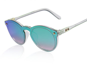 Elegant Reflective Mirrored Sunglasses