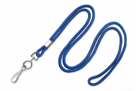 Cord Lanyard royal blue