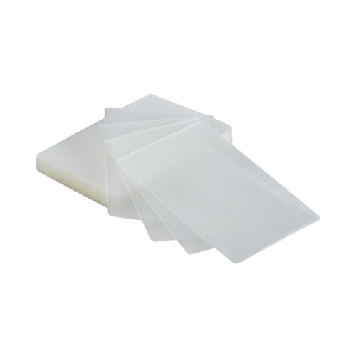 100 - Index Size 5mil Laminating Pouches with Slot