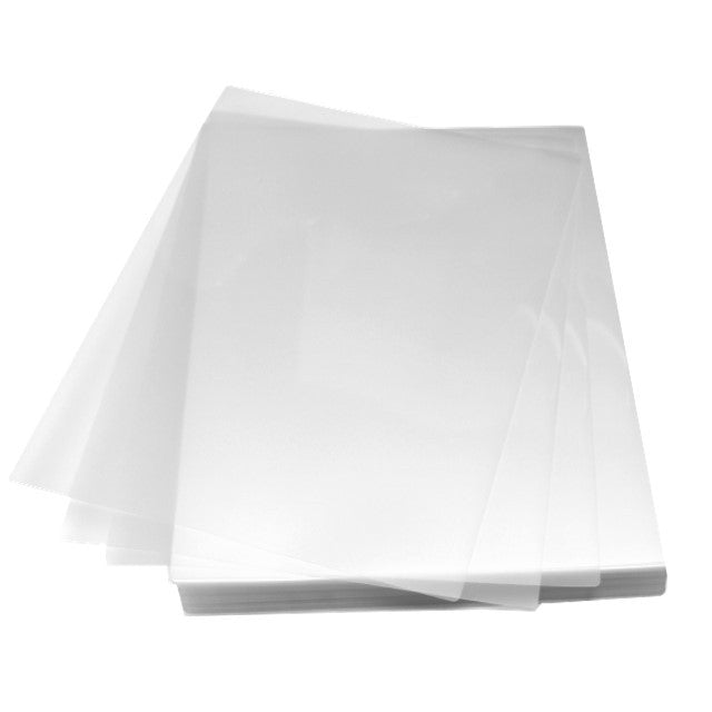 "9"" x 14 1/2"" 3mil laminating pouches"