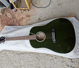 free shipping AAA quality 2020 custom slope shoulder olive green solid J45 vintage guitar acoustic electric guitars