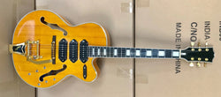 free shipping guitar factory custom 100% New archtop guitar Musical Instruments custom L5 blonde P90 pickup jazz electric guitar