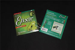 free shipping 10 sets/lot elixir bass strings for guitar 14077 model Guitar Bass Accessories
