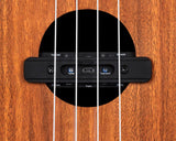 free shipping DOUBLE U0 Ukulele Pickup Built-In Chorus Delay Reverb Effects Soundhole Dual Channel Pick Up System Acoustic Ukulele pickups