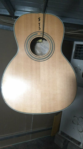Free Shipping Acoustic Guitar 00 Solid Spruce Parlor Acoustic Guitar