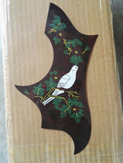 free shipping new dove guitar pickguard hummingbird pickguard SJ200 original thin acoustic guitar pickguards