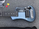 free shipping top quality hofner mini portable electric guitar travel guitar