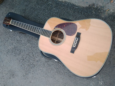 free shipping free hardcase Tony Rice style Dreadnought customize Byron produce acoustic electric guitar