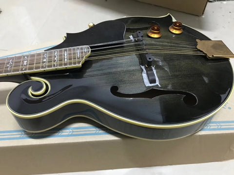 free shipping new music instruments solid top wood electric mandolin guitar on sale