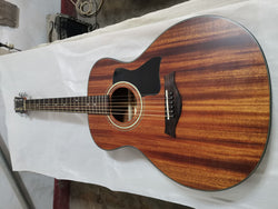 free shipping solid mahogany wood guitar 324ce non cut guitars