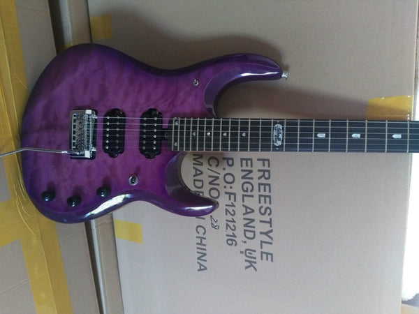 2017 New purple Guitar + Guitar Factory + music man JP electric guitar John Petrucci signature Musicman electric guitar Free Shipping