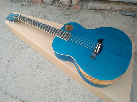 free shipping Byron expression series custom acoustic guitar OOO15 guitar non-cut body handmade guitar