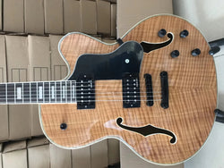 free shipping Byron 6 string archtop guitar customize jumbo handmade archtop  jazz electric guitar